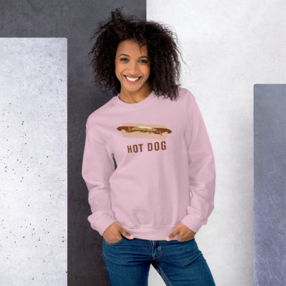 Hot Dog Sweatshirt